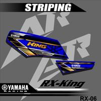 Sticker striping YAMAHA RX KING Variasi motor RX-06