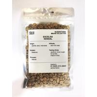Biji Kopi Mentah / Green Bean Coffee Excelsa, Jawa, Kendal, 125 gr