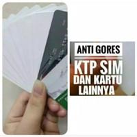 Stiker Anti Gores Pelindung KTP SIM ATM dan kartu lainnya