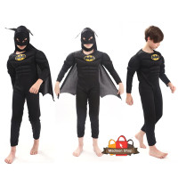 Kostum Batman Mussle Baju Superhero Murah Baju Pesta Kado Anak Laki