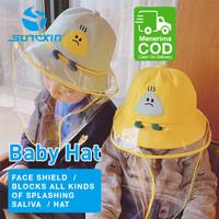 Topi Anak Anti Debu / Anti Virus / Pelindung Wajah Dari Sinar Matahari