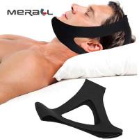 Aolikes sabuk tidur anti ngorok snoring solution chin rest band strap