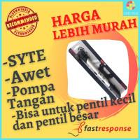 Pompa Sepeda Portable Mini Pompa Ban Sepedah Syte F1004