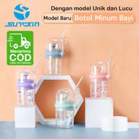 Botol Minum Anak Air Mancur Motif Hewan / Botol Minum Susu Bayi