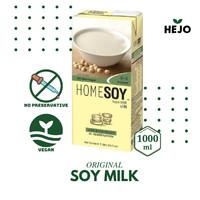 Soy Milk Original 1 Liter - HOMESOY Susu Soya