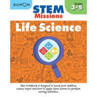 Buku Anak - Kumon - STEM Missions: Life Science