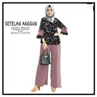Setelan Anggun, Baju dan celana panjang wanita muslim terbaru terkini