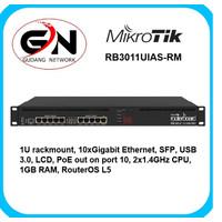Mikrotik RB3011UIAS-RM RouterBOARD 10xGigabit Ethernet, USB 3.0