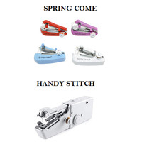 Mesin Jahit Tangan Portable Mini Sewing Spring Come Handy Stitch