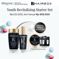 Kerastase Youth Revitalizing Starter Set - Perawatan Anti Penuaan