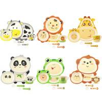 Bamboo Fiber Kids Feeding Set / Peralatan Makan Bayi-anak anak-TS09