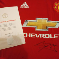 Jersey Original Manchester United Signed