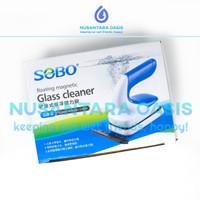 DISKON SOBO SB 6 GLASS MAGNETIC CLEANER AQUARIUM KERAK LUMUT PEMBERSIH
