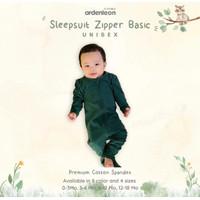 ARDENLEON - Sleepsuit Zipper Basic - Baju Tidur Bayi