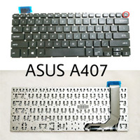Keyboard ASUS X407 X407M X407MA X407UBR X407UA X407UB A407 NO Frame