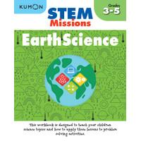 Buku Anak - Kumon - STEM Missions: Earth Science