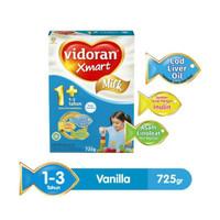 Vidoran Xmart Milk 1+ 3+ VANILA MADU NUTRIPLEX 725gr FULL FREE ONGKIR