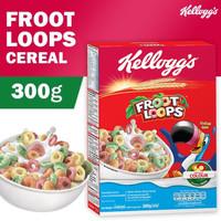 Kelloggs Froot Loops 300g fruit loops sereal kellog sarapan