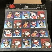 Christmas Tag Card Natal Kartu Ucapan Model 3D Ex-Export
