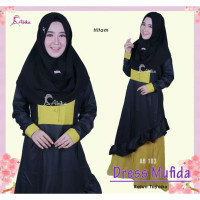 DRESS/GAMIS MUFIDA BY ABIKA HIJAB