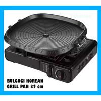 Panci Panggang Bulgogi Korean Grill Pan Kotak 32cm