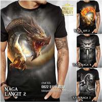 KAOS NAGA Tshirt Baju Kaos Gambar NAGA Distro Premium Kaos SHIO NAGA