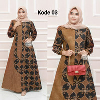 batik gamis baju muslimah baju terbaru mantul baju batik wwanita pesta