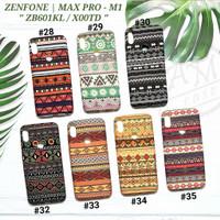 ASUS ZENFONE MAX PRO M1  Soft case Tribal Batik Glow In The Dark