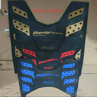 karpet motor Beat esp, terbaru 2015/2019 monster biru.
