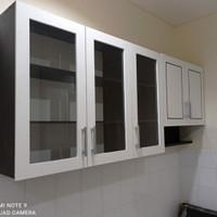 kitchen set 5 pintu atas