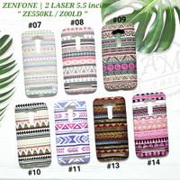 ASUS ZENFONE 2 LASER 5.5 / ZE550KL / Z00LD  Soft case Tribal Glow