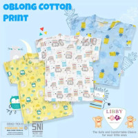 Kaos Oblong Bloon Libby Mix 3Pcs motif Fruit Baju bayi Libby bloon
