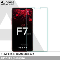 Asman Premium Tempered Glass Anti Gores for Oppo F7 - Clear