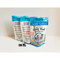 REFILL / REFIL BODY WASH THAI GOATS MILK DOUBLE MOISTURIZE BPOM 100 ML