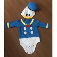 Baju romper bayi disney ori donald duck set costume donal bebek
