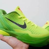 Sepatu Basket Nike Kobe 6 Protro Low Grinch