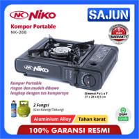 Niko kompor gas portable 2in1 NK268