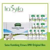 SUSU KAMBING ETAWA AMH ORIGINAL RASA VANILA PUTIH KEMASAN BOX
