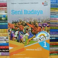 Buku seni budaya untuk SMK kelas 1 X 10 kurikulum 2013 revisi erlangga
