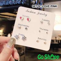 Anting Wanita Fashion Korea 1 Set - Anting Tusuk Earring Wanita [AT01]