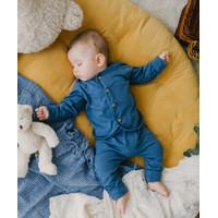 Takoyakids Essentials Suki Foldable Pyjamas Sets Steel Blue