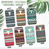 ASUS ZENFONE 3 5.5 / ZE552KL / Z012D  Soft case Tribal Batik Glow