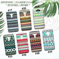 ASUS ZENFONE 3 LASER 5.5 / ZC551KL / Z01BD  Soft case Tribal Glow