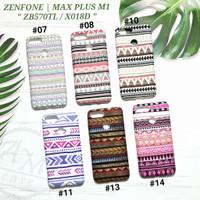 ASUS ZENFONE MAX PLUS / M1  Soft case Tribal Batik Glow In The Dark