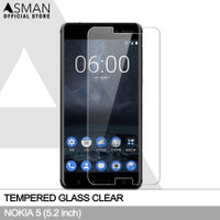 Tempered Glass Nokia 5 (5.2) | Pelindung Layar Anti Gores - Bening