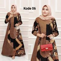 gamis batik baju wanita Batik Ibu batik longdress Batik