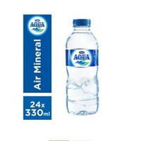 Aqua 330ml botol kartonan