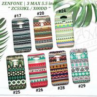 ASUS ZENFONE 3 MAX 5.5 / ZC553KL / X00DD  Soft case Tribal Glow