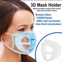 Mask Holder 3D - Penyangga Masker Bahan Silicon