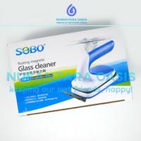 DISKON SOBO SB 8 GLASS MAGNETIC CLEANER AQUARIUM KERAK LUMUT PEMBERSIH